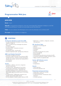 Programmation Web Java