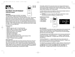 20 - SureTest® Circuit Analyzer