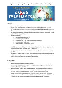 Règlement de participation au grand tremplin TCL