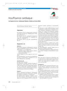 Insuffisance cardiaque - Primary and Hospital Care