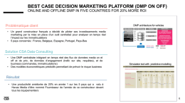best case decision marketing platform (dmp on off)