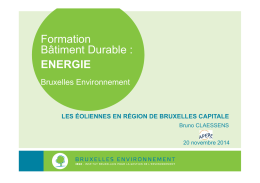 Formation Bâtiment Durable : ENERGIE