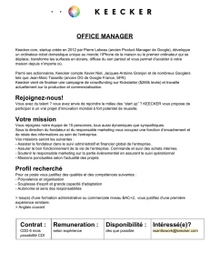 OFFICE MANAGER Rejoigneznous!