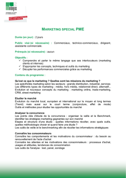 marketing special pme