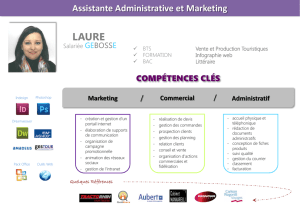 Assistante Administrative et Marketing