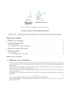 Composants Hyperfréquences
