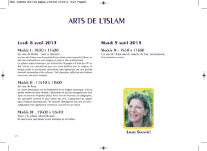 arts de l`islam - Syndicat National des Antiquaires