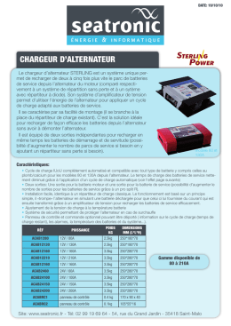 Chargeur d`alternateur
