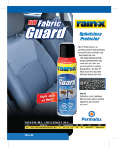 Upholstery Protector Upholstery Protector Upholstery Protector