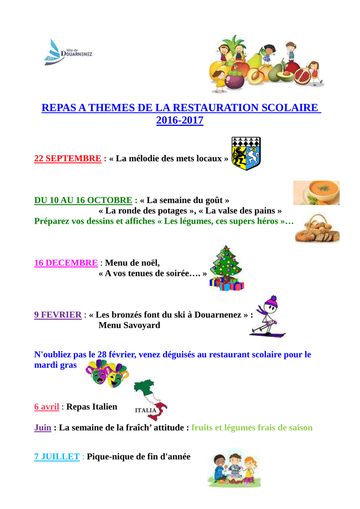 Dessin De Menu Pour Noel.Repas A Theme Ecole