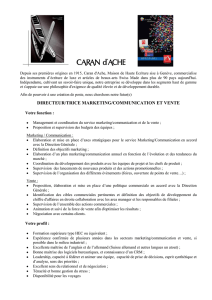 directeur/trice marketing/communication et vente