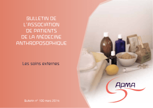 bulletin de l`association de patients de la médecine