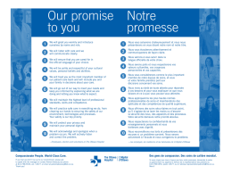 Notre promesse - The Ottawa Hospital