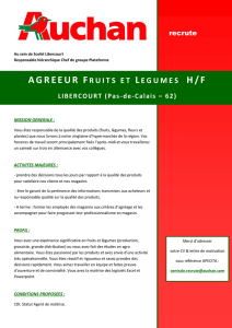 agreeur fruits et legumes h/f