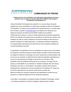 Newco new name PR - Artesyn Embedded Technologies