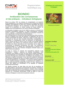 CNRT_RESUME BIOINDIC_PS13
