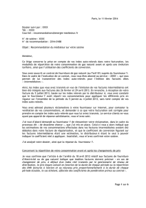MNE - Février 2014 - Recommanadtion n° 2014-0188