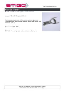 G/én/érique /Écouvillon acier tremp/é /Ø60mm