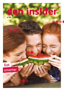 smarter Eat - Fondation Cancer