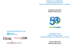 Celebration of the 50th Anniversary of the International Agency