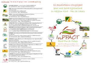 Brochure InPPACT - Les agricultures alternatives