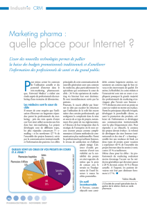 Marketing pharma : quelle place pour Internet