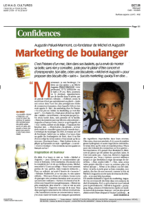 Marketing de boulanger