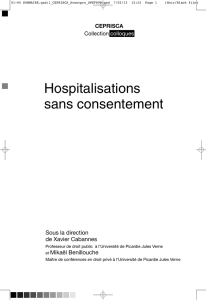 Hospitalisations sans consentement