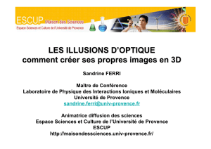 illusion d`optique