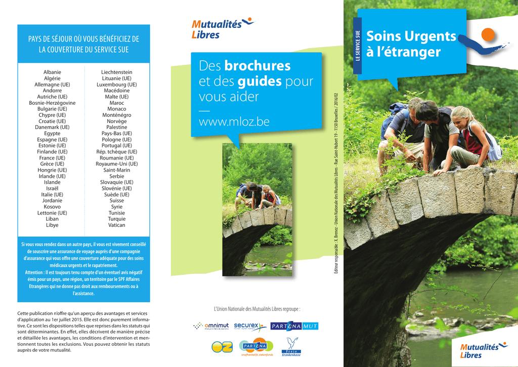 Carte Europeenne Dassurance Maladie Omnimut.Des Brochures Et Des Guides Pour Vous Aider Soins Urgents A L