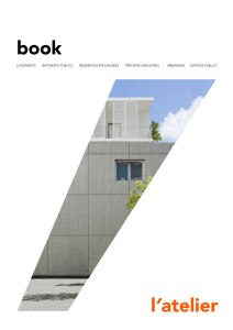 BOOK - L`ATELIER Architectes