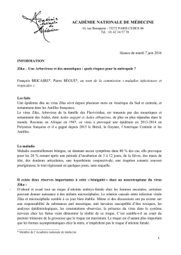 Télécharger le document  - Académie nationale de médecine