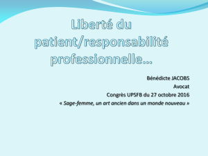 expose-mme-jacobs - Union Professionnelle des Sages
