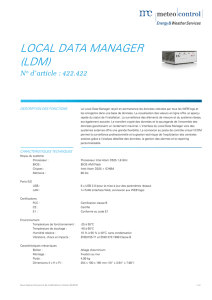 local data manager (ldm)