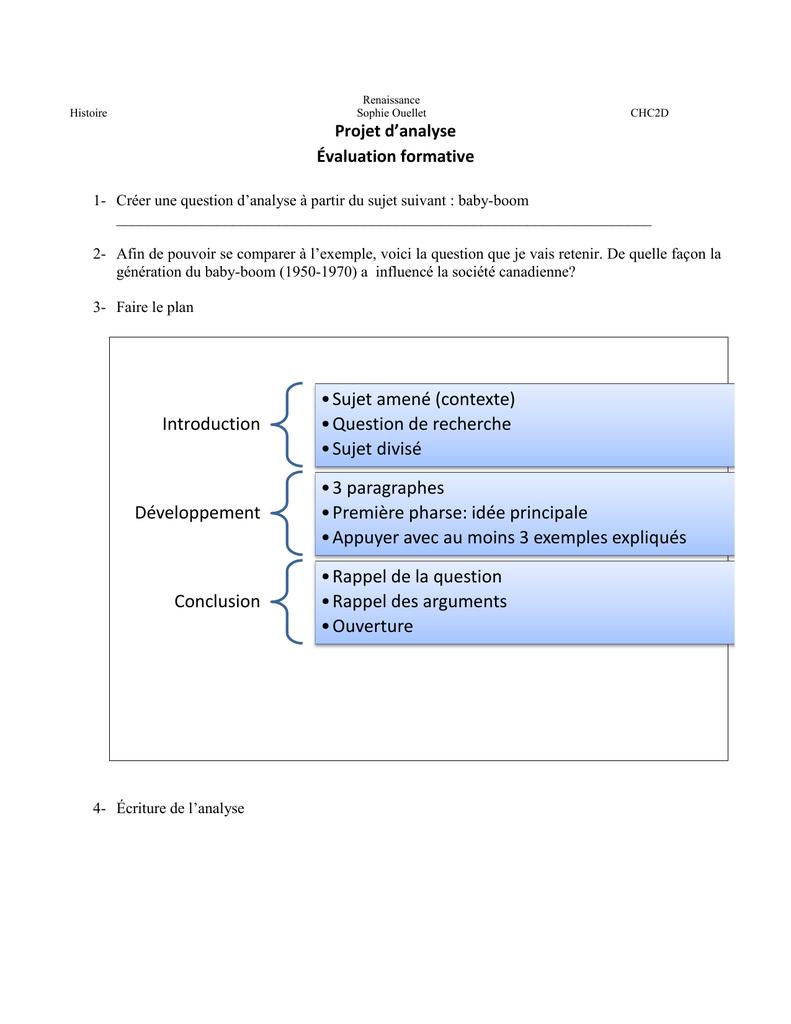 Exemple Introduction Analyse De Document Histoire - Le ...