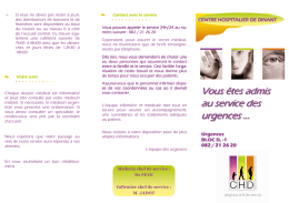 brochure d`informations urgences.pub