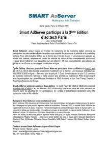 Smart AdServer participe à la 3ème édition d`ad:tech Paris