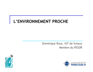 (Microsoft PowerPoint - Cours n\260 8 L`ENVIRONNEMENT