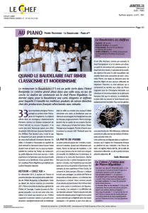 Lire l`article - Le Burgundy Paris