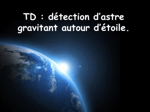 correction du td doppler astrophysique