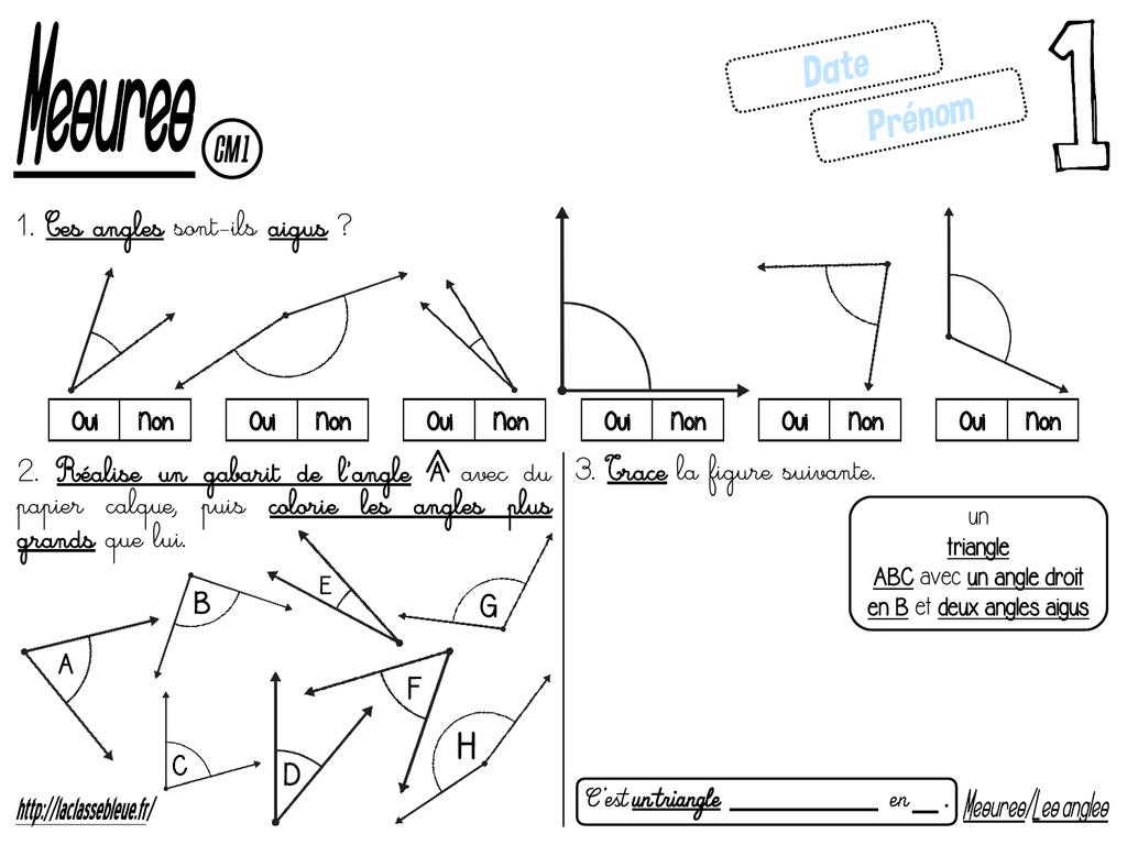 Le Fichier Cm1 Laclassebleue