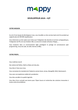 developpeur java – h/f