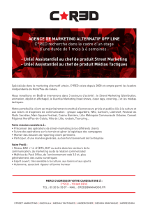 AGENCE DE MARKETING ALTERNATIF OFF LINE C*RED