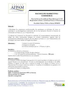 E.P.V.M. - Ecole Pratique de Vente et de Marketing