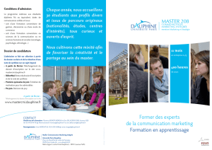 Former des experts de la communication marketing Formation en
