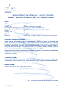neuro-activation workshop – neuro-training