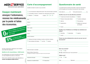 Carte d`accompagnement