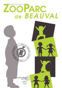 Cycle 1 - Scolaires - ZooParc de Beauval