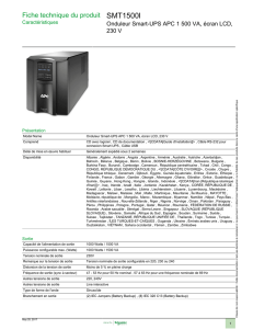 SMT1500I - Schneider Electric