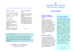 Document Droit Patient